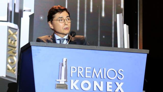 Jorge Fontevecchia durante su discurso