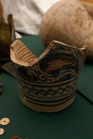 Los frailes usaban a diario objetos similares a los de las clases altas de la sociedad colonial y virreinal del siglo XVII. Foto: LA NACION / Hernán Zenteno