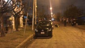 El lugar del intento de asalto de un ex policía en Castelar