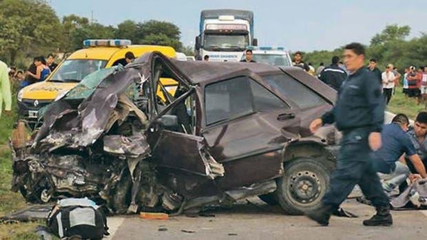 El accidente ocurrió a la altura de Taboada