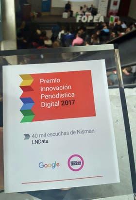 El premio Google-Fopea que recibió LA NACION Data