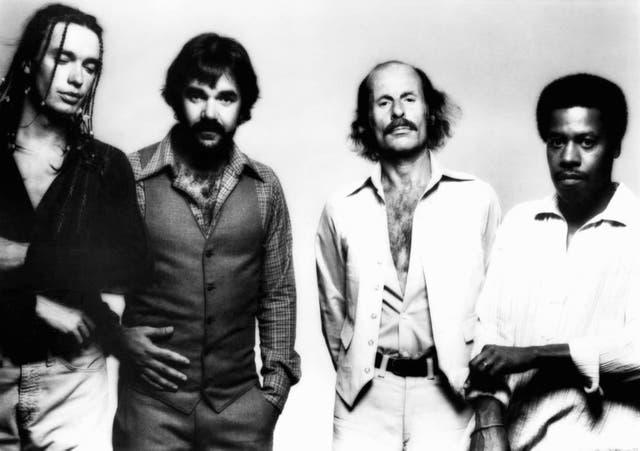 Con Weather Report, supergrupo del jazz fusión con el que visitó Buenos Aires en 1980