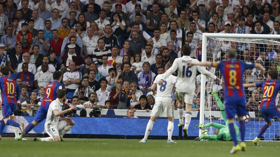 Cámaras y sorpresas en la tribuna de Real Madrid