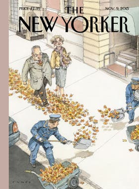 La tapa del número del 9 de noviembre de The New Yorker