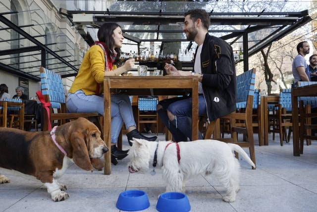 Melanie Tobal y Gonzalo Benítez almuerzan en La Mar junto a Juanita y Napoleón