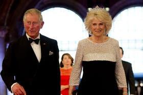 El príncipe Carlos de Inglaterra y Camilla, la duquesa de Cornwall