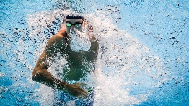 Natacion, FINA World Championships en Budapest. Foto: AFP