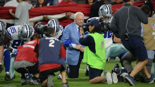 El dueño de Dallas se unió al reclamo del equipo