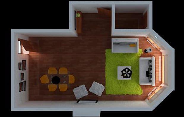 Solución 91: cómo lograr un living comedor minimalista   living ...