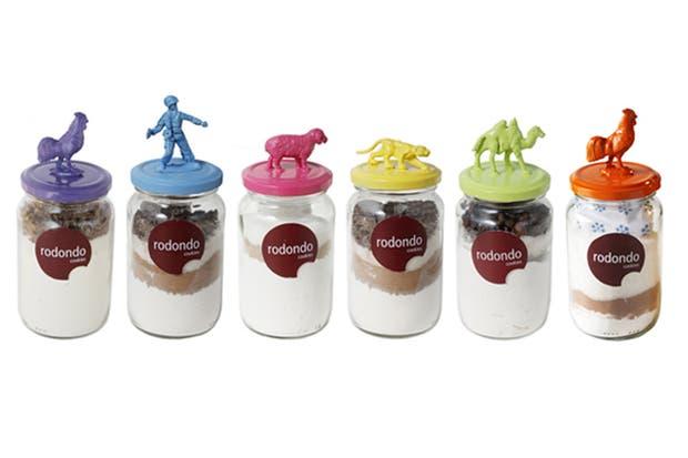 Rodondo ofrece una experiencia diferente, con sus frascos que vienen con la premezcla para hacer una galletitas riquísimas.