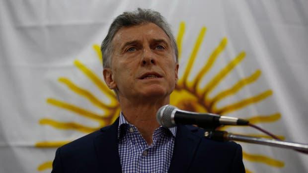 Macri pidió
