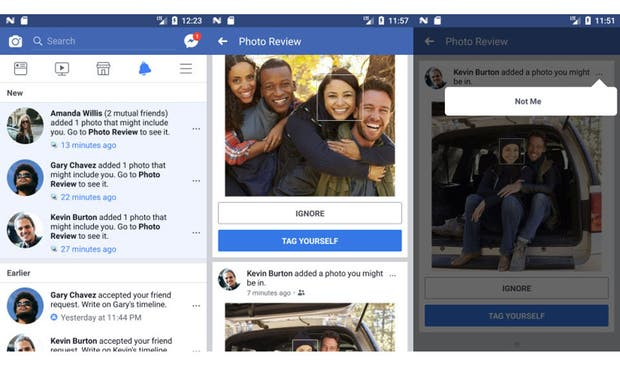 Nueva herramienta de Facebook reconoce rostros sin etiquetar