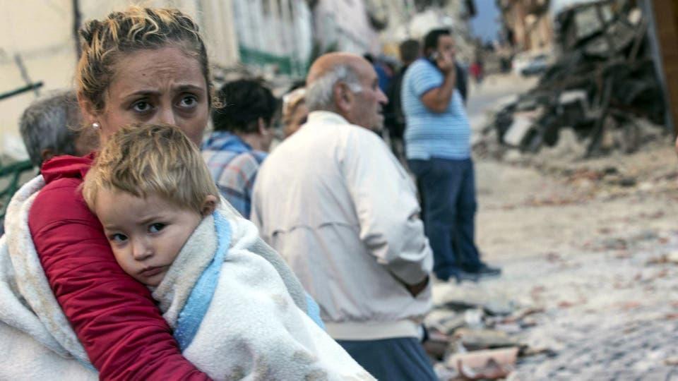 El sismo afectó la región más montañosa del país. Foto: AP / Massimo Percossi