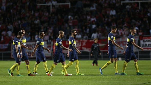 Boca no pudo ganar en La Plata