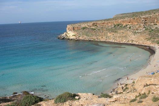 1. Playa de los Conejos, Sicilia, Italia.