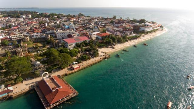 Stone Town en Zanzíbar