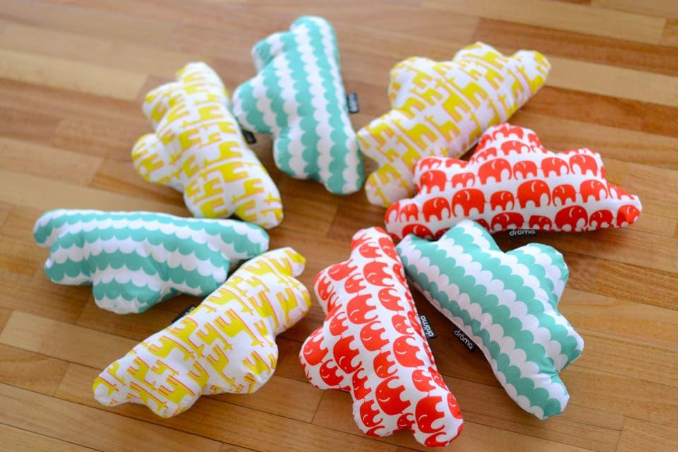 Diseño mullido: almohadones para todos los gustos