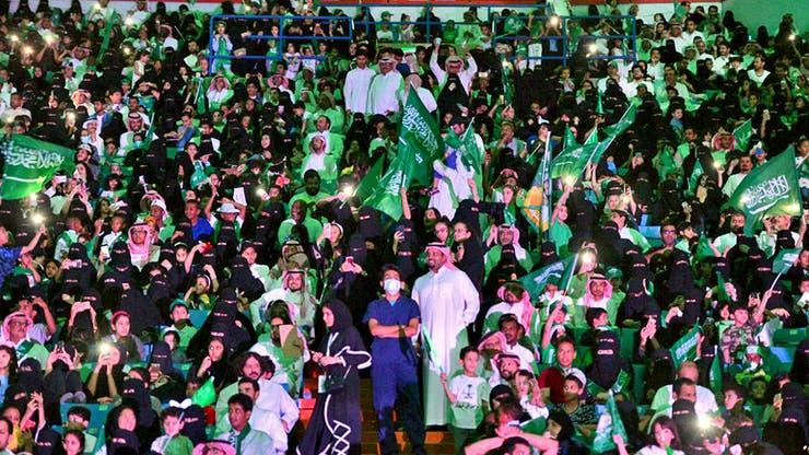 Por primera vez, las mujeres asisten a un partido de fútbol en Arabia Saudita