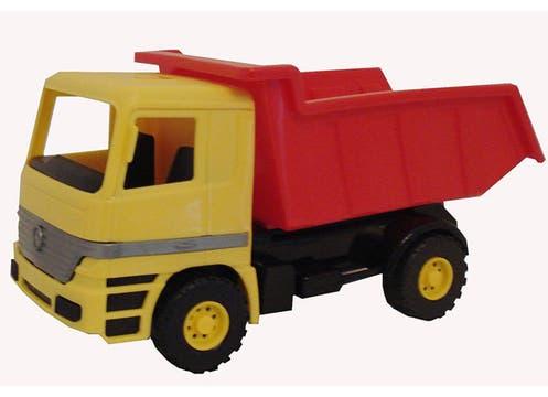 Camioncito de carga ($30 en Hiperlibrería Koruya). Foto: lanacion.com