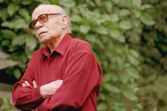 En su casa de Santos Lugares el día de su cumpleaños número 85. Foto: Archivo