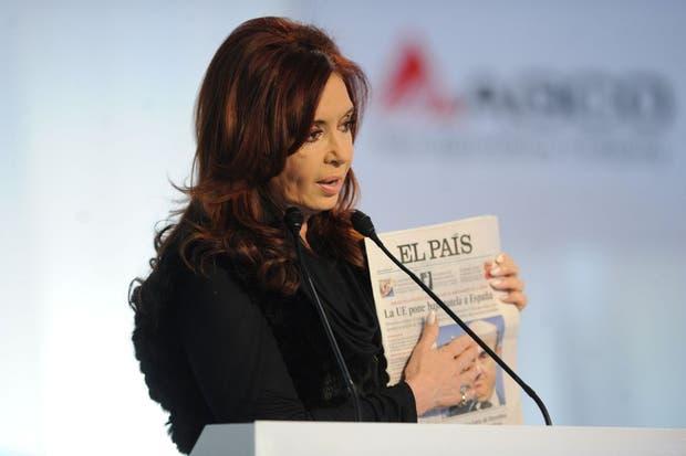 La presidenta Cristina Kirchner habló por cadena nacional desde General Rodríguez