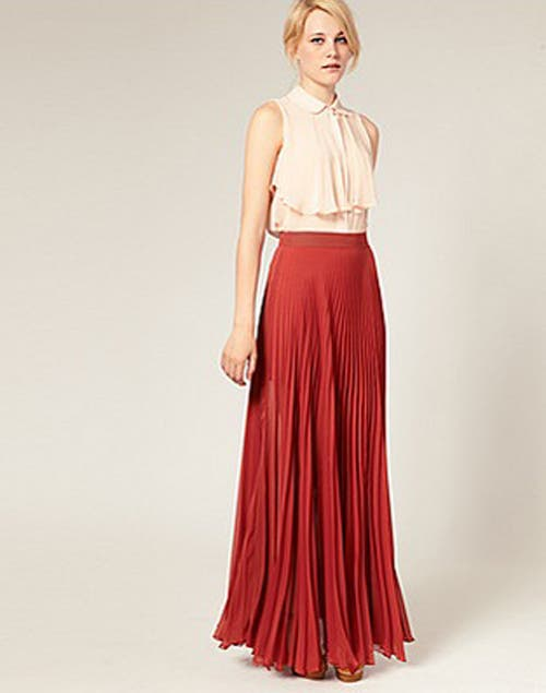 Esta falda es para todas las edades, favorece y sienta muy bien. Foto:Archivo /Fuente: vanidadfemenina.com