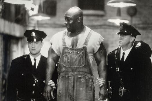 Clarke Duncan fue un prisionero sentenciado a muerte en la película The Green Mile, por la que fue nominado al Oscar como mejor actor de reparto. Foto: Archivo