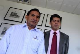 Yanza y Fajardo, al frente de una demanda que trajeron a la Argentina