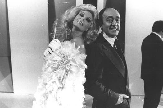 Susana y Olmedo conquistaron el público en los 80. Foto: Archivo La Nación