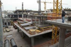 La construcción tuvo su primera suba en diez meses