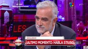 El ex espía, Antonio Stiuso, increpó al ex fiscal adjunto del juicio a las Juntas Militares, Luis Moreno Ocampo