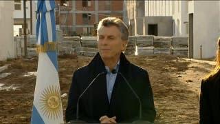 El presidente Macri anunció plan de viviendas