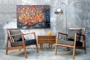 Muebles para una decoración retro