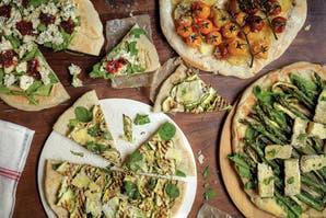 Pizza a la chapa: 4 opciones con vegetales