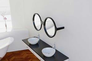 Objetos locos con diseños de lentes