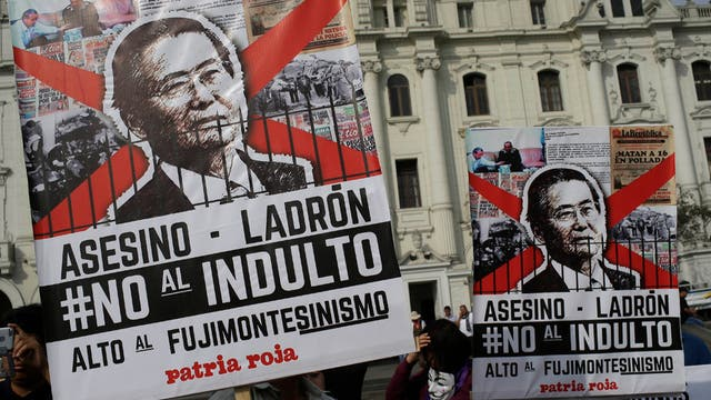 Indulto a Alberto Fujimori: APP mostró su