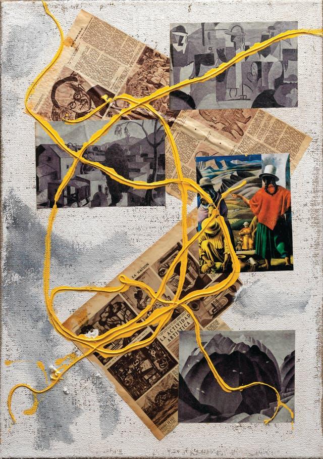 Geografía plástica argentina, Santiago Villanueva, 2013