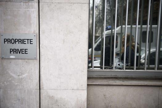 Ataque a la redacción de la revista Charlie Hebdo. Foto: AFP