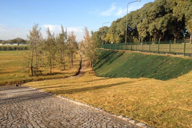 La pista en el Parque Sarmiento busca seguridad para ciclistas y peatones