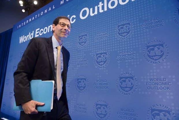 Maurice Obstfeld, director de investigación del FMI, al presentar el informe del organismo, ayer, en Washington