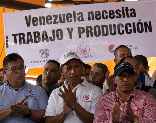 Trabajadores de Polar, la mayor procesadora de alimentos de Venezuela, rechazaron una posible expropiación