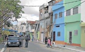 En el barrio Cildáñez, ya se lucen los frentes recién pintados