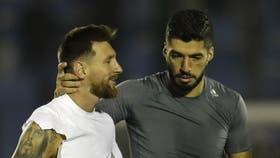 Luis Suárez y Lionel Messi, dos amigos
