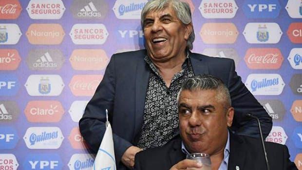 Hugo Moyano salió a bancar a su yerno