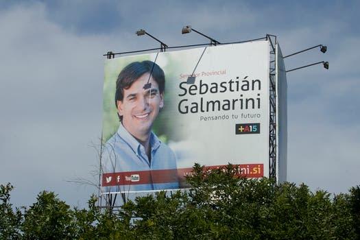 El cuñado de Massa también lanzó una fuerte campaña en la vía pública. Foto: LA NACION / Matias Aimar