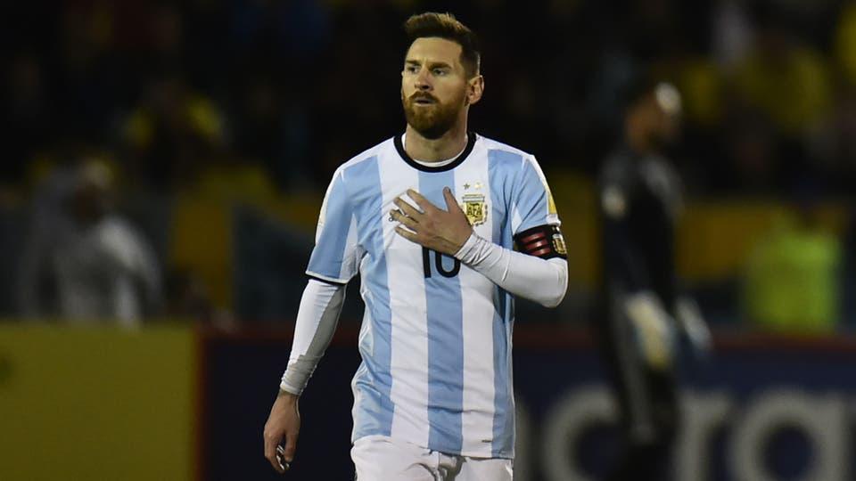 Lionel Messi, a todo nada jugo con amor propio. Foto: AFP