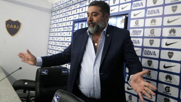 El presidente de Boca Daniel Angelici