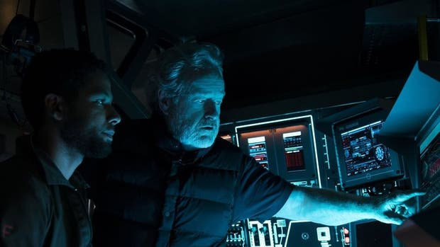 El director y productor, Ridley Scott