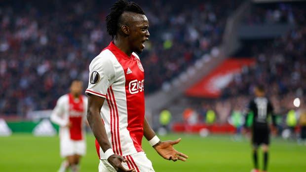 Traoré, el grito de gol de Ajax