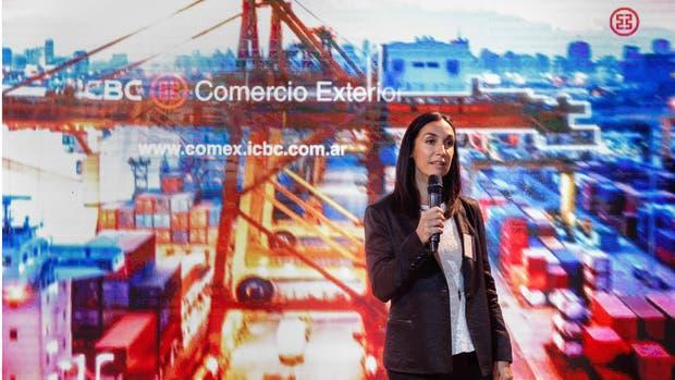Paula Ortega, Responsable de Productos de Comercio Exterior de ICBC Argentina